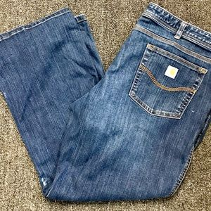 Carhartt relaxed fit jeans 18s